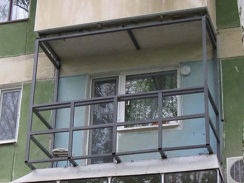 Как сделать каркас для балкона